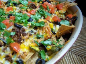 nacho gluten free lunch idea