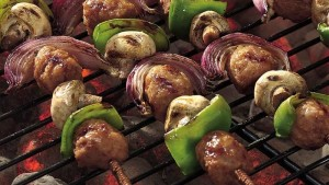 kabob gluten free lunch idea