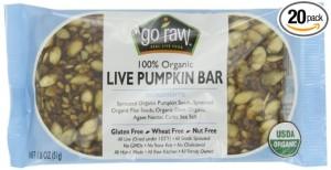 pumpkin bar for protein